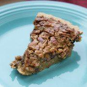 New Market BBQ Chocolate Chip Pecan Pie