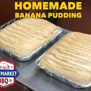 Banana Pudding Half Pans