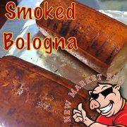 Smoked Bologna at New Market BBQ