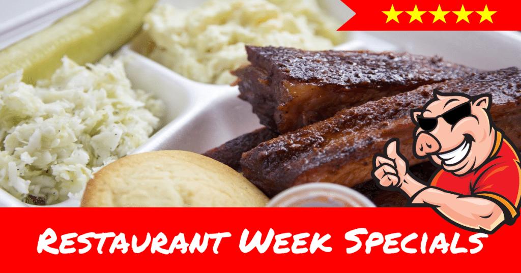 Restaurant Week Specials